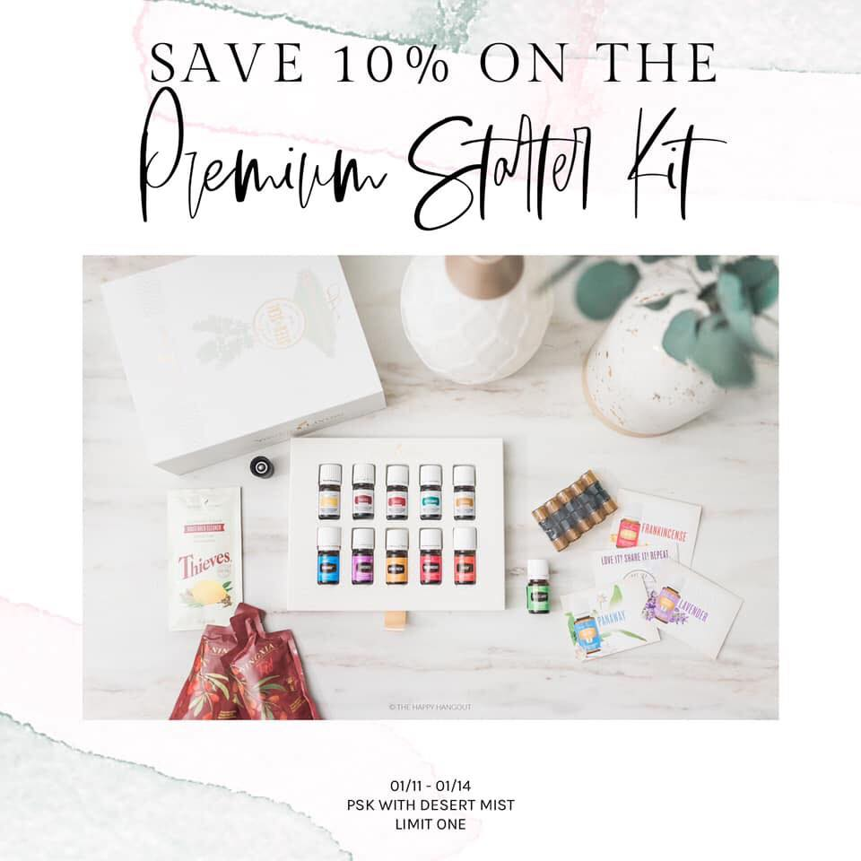 Young Living premium starter kit sale