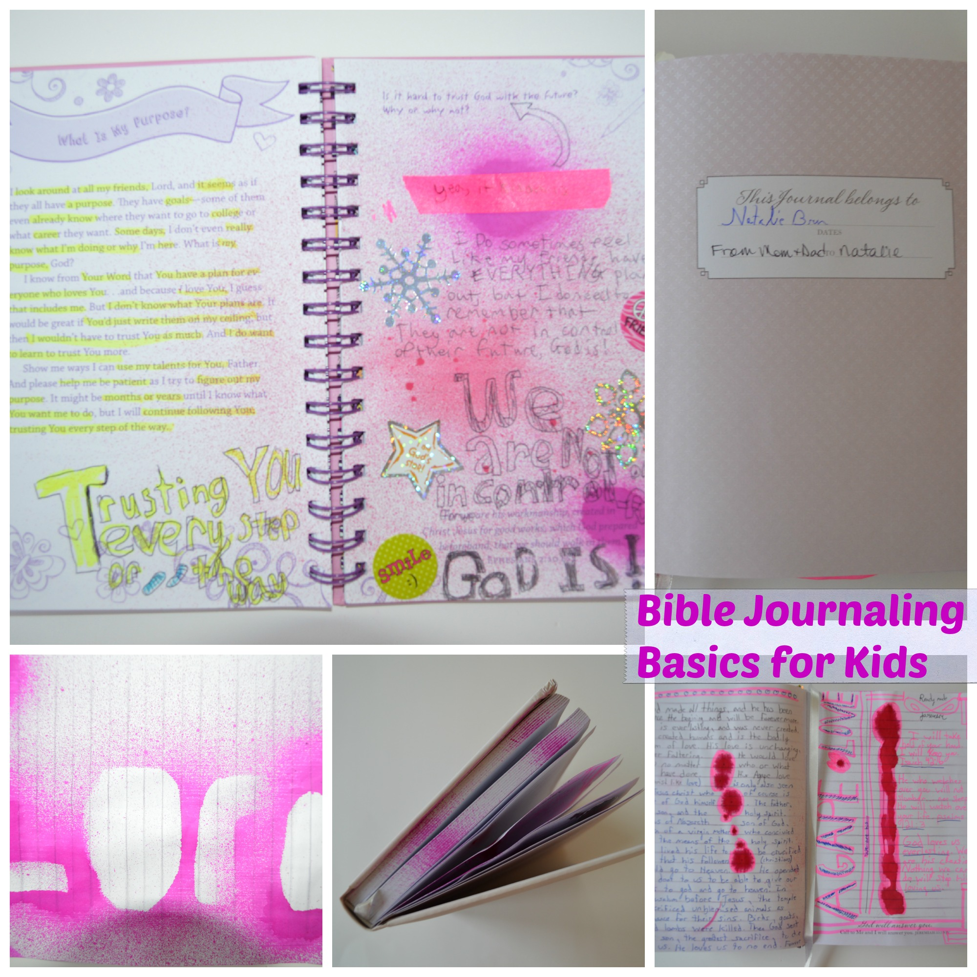 Bible Journaling Basics for Kids