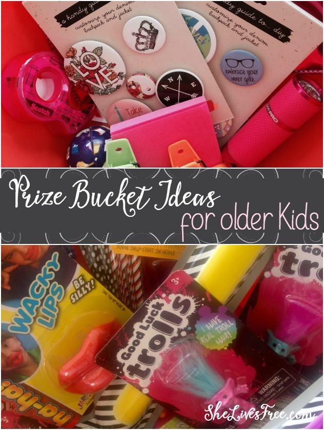 Prize Bucket Ideas