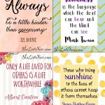 Acts of Kindness Christmas Countdown Calendars (Free Printables)