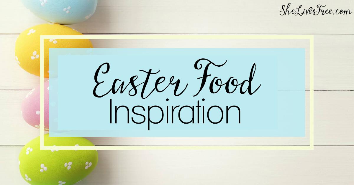 Easter Food Inspiration FB