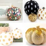 20 Shabby Chic Pumpkin Decor Ideas