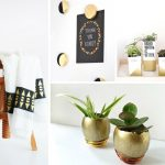 20 DIY Gold Decorations