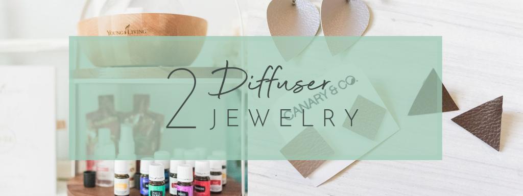 Essential Oils diffuser jewelry